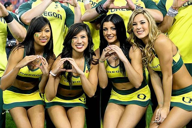 GoDucks.net - Oregon Ducks Cheerleaders