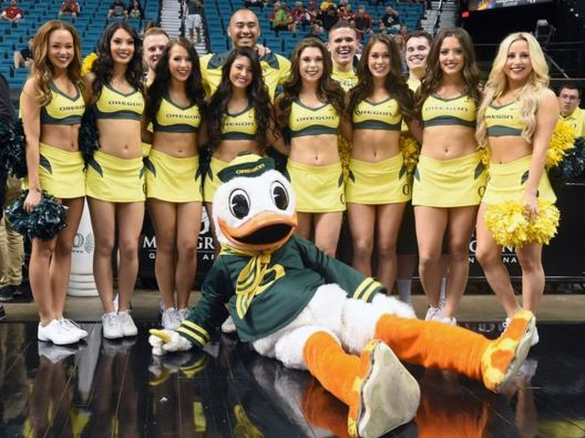 Oregon Cheerleaders